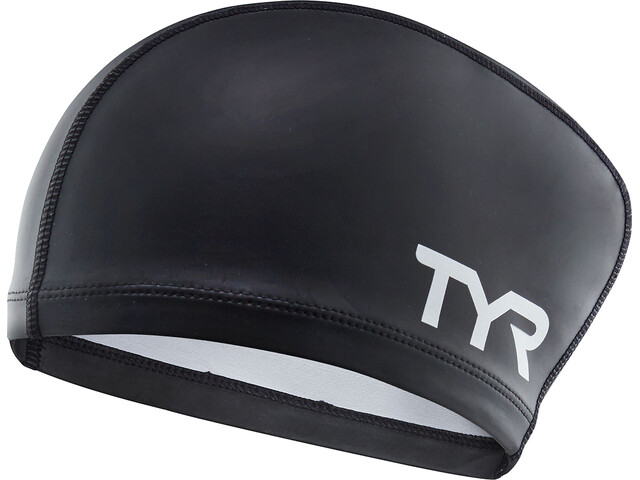 TYR Comfort Long Hair Silicone Cap Kids black